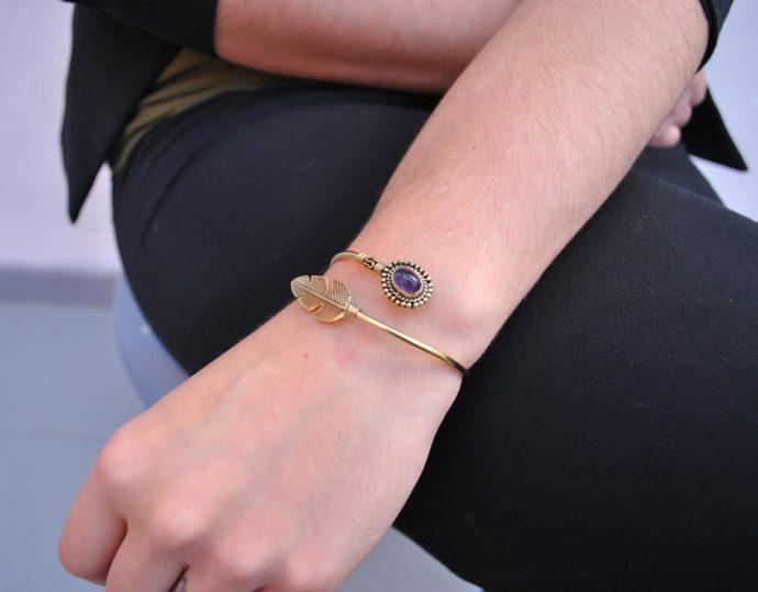 modelo pulsera pluma