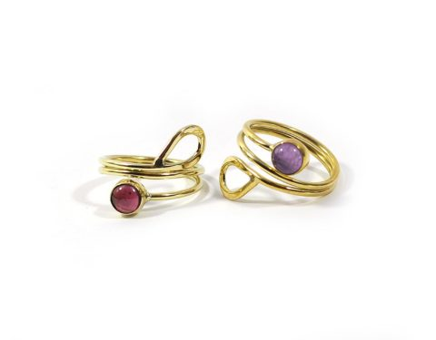 anillo gema
