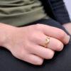 anillo luna modelo