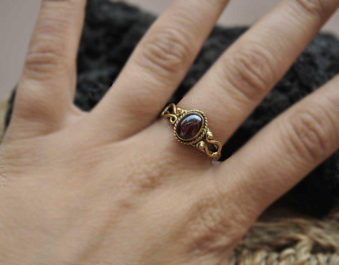anillo laton pequeño