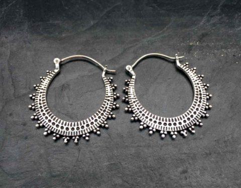 silver hoop