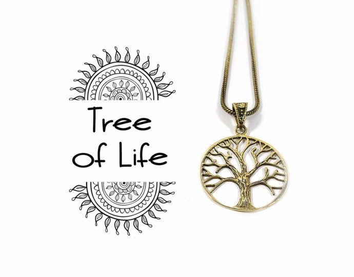 colgante flor de la vida