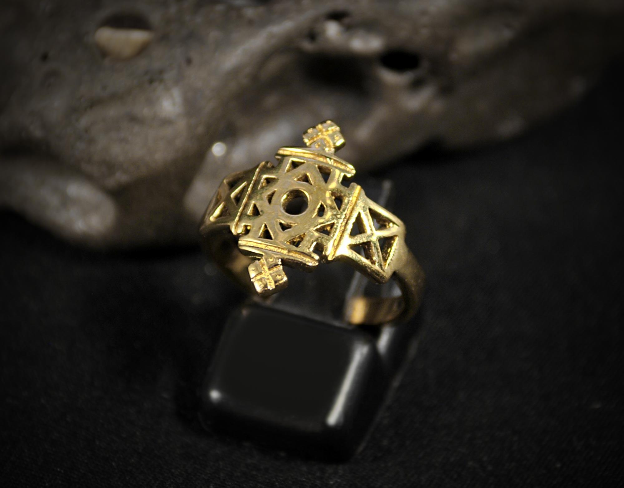 anillo tibetano