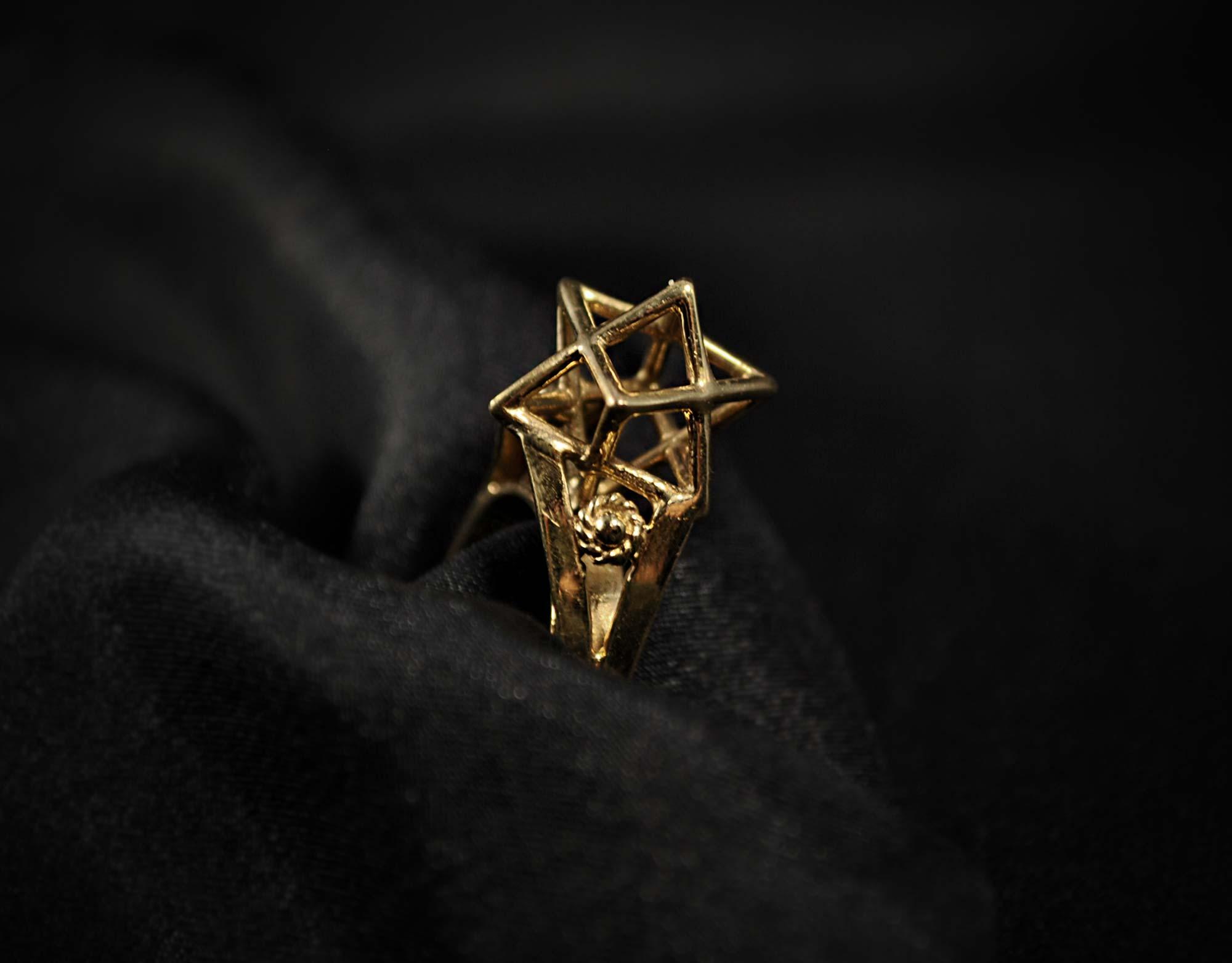 merkaba ring